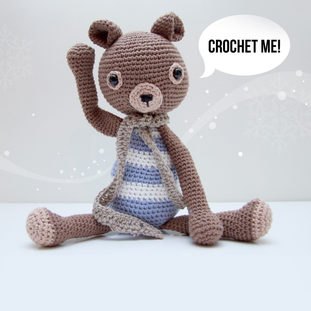 Roy the Teddy - amigurumi pattern