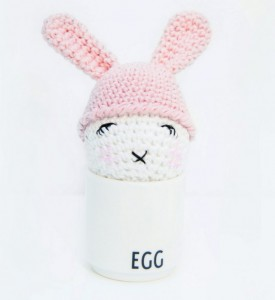 Crochet egg cozy free pattern