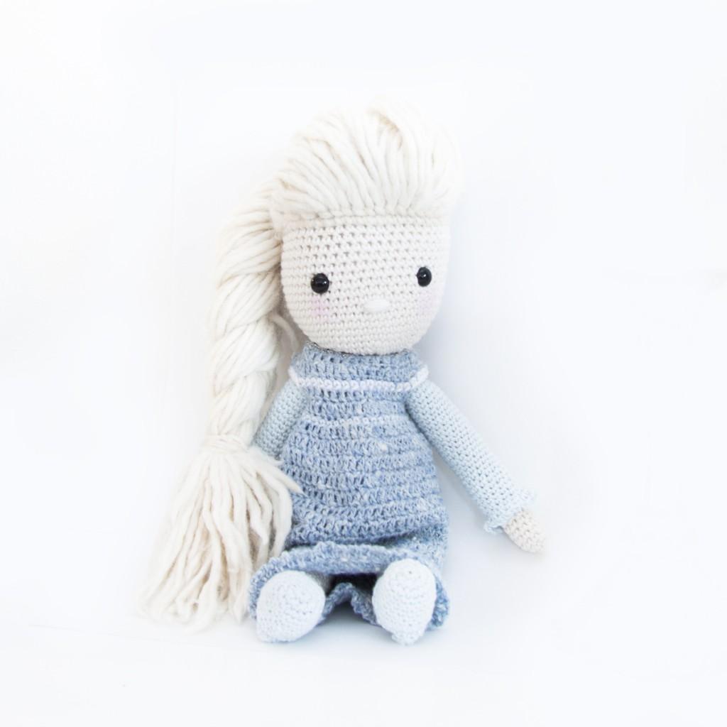 Frozen Elsa Crochet Dress