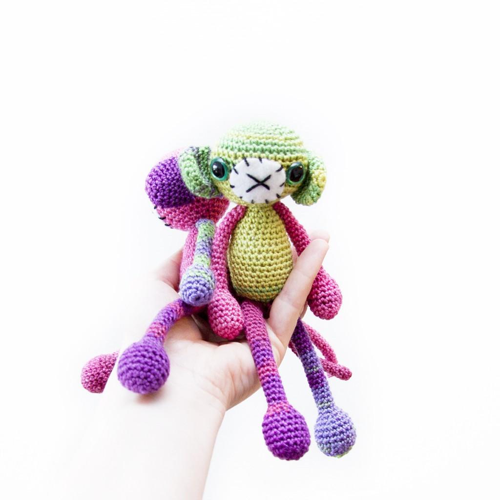 Crochet Monkey Free Pattern
