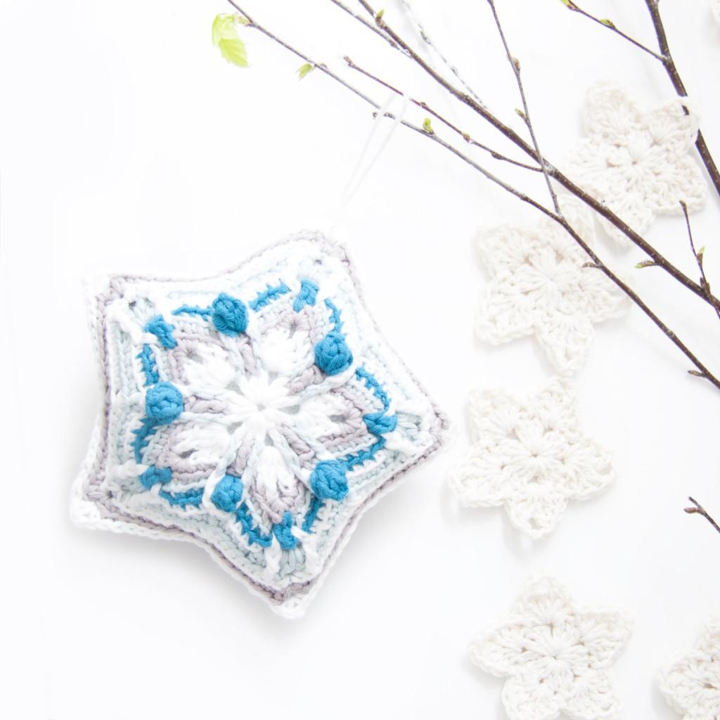 Crochet Christmas Star - Free Pattern