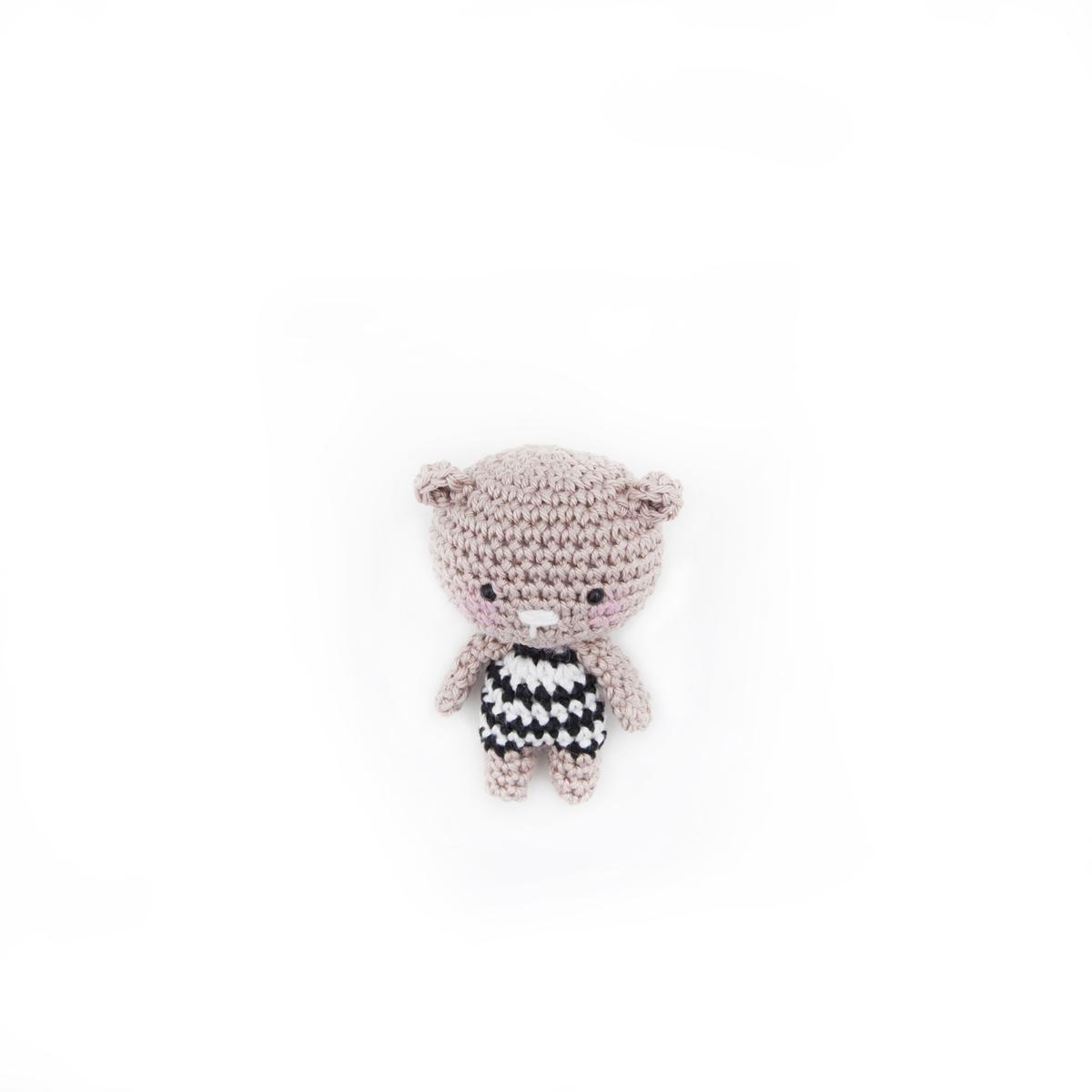 Mini mini teddy bear - Crochet Pattern by Ina Rho