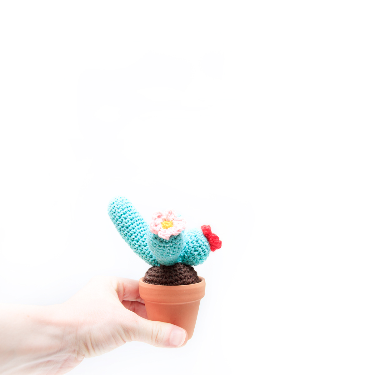 Free Crochet Cactus by Ina Rho