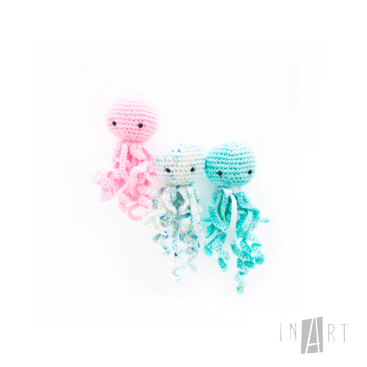 Free Crochet Jelly Fish Pattern by Ina Rho (InArt)