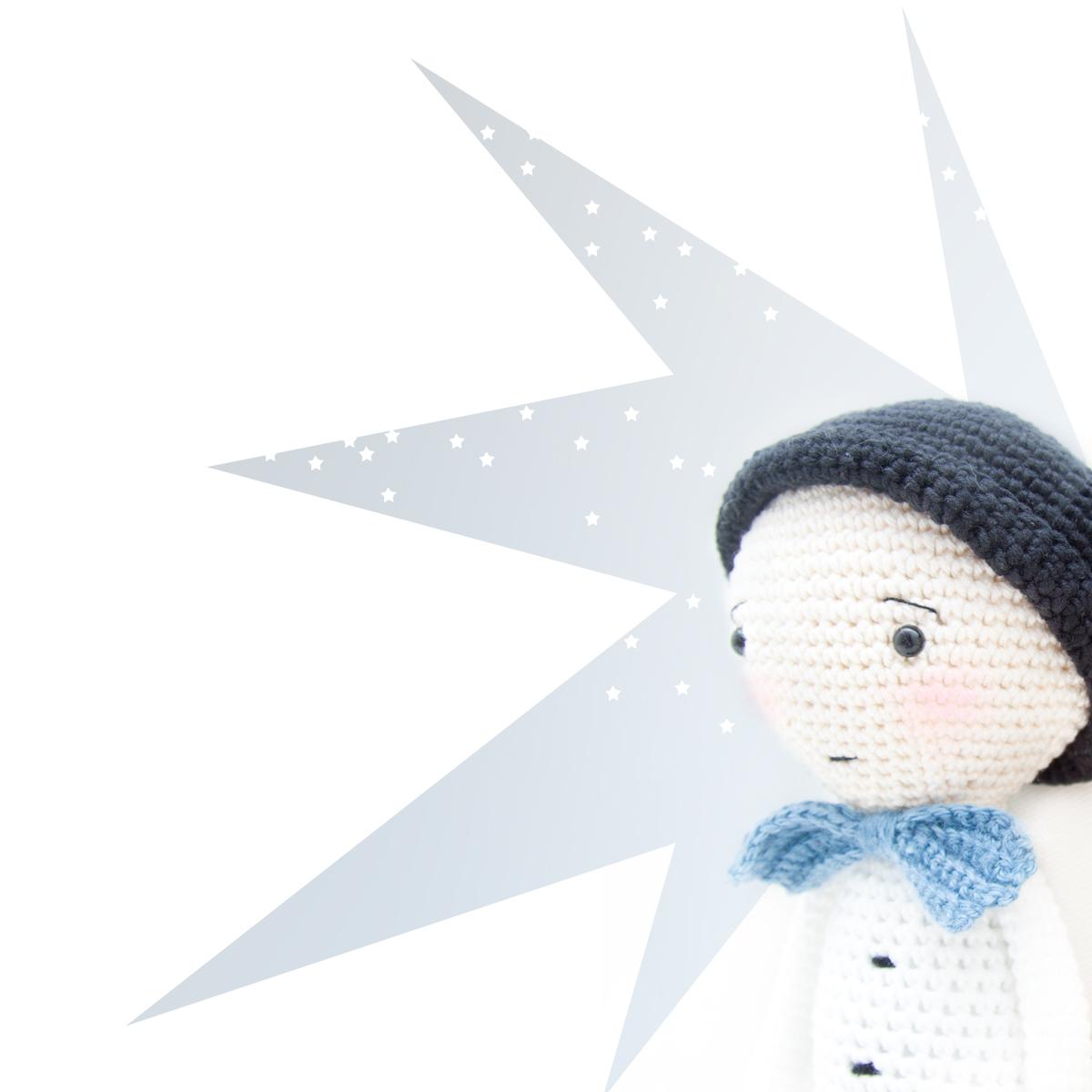 Crochet boy pattern by Ina Rho
