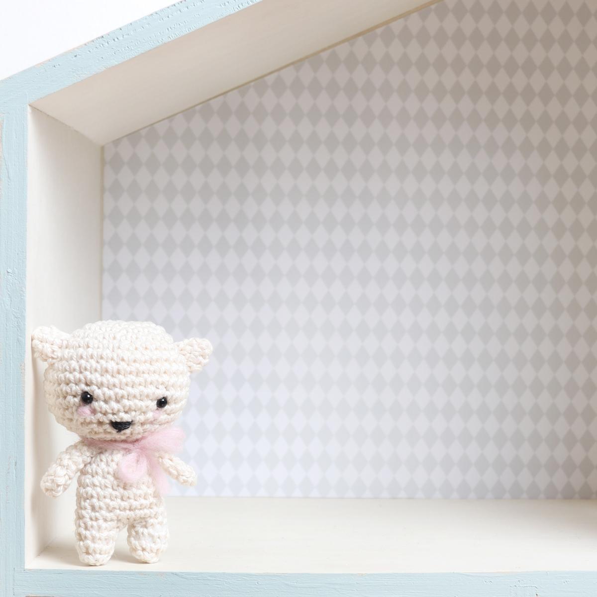 Free Crochet pattern mini kitten