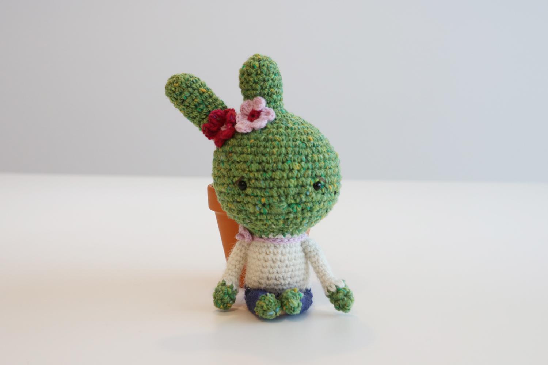 Crochet Pattern: Playful Cactus Girl - InArt