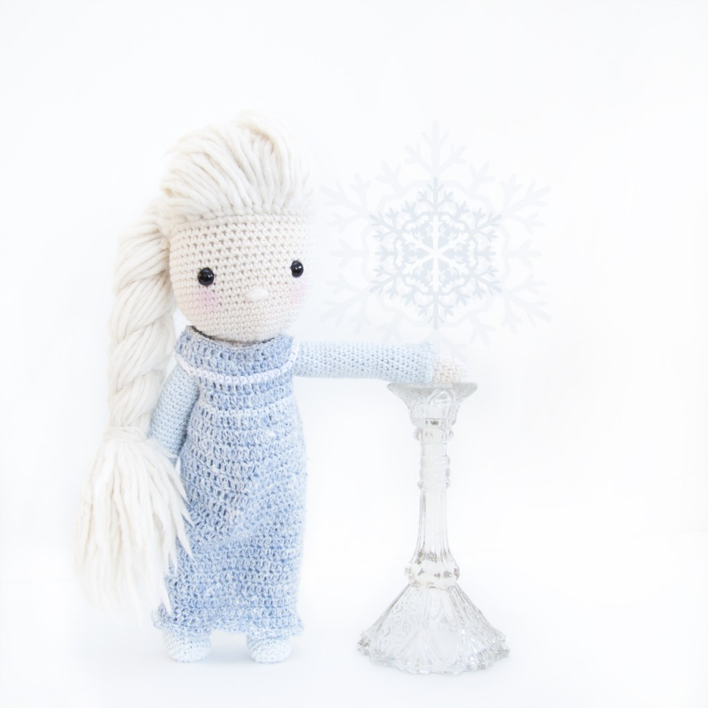 Frozen Elsa Crochet Dress Pattern