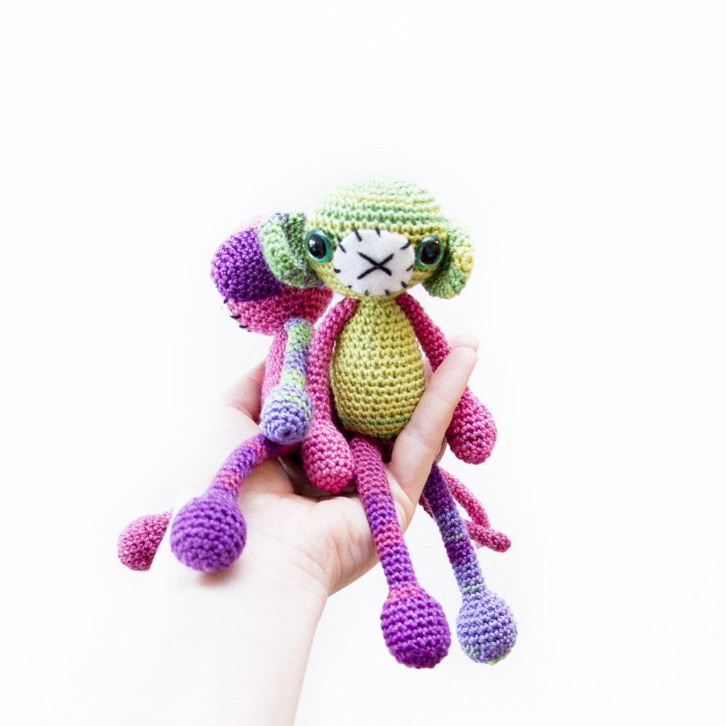 Crochet Monkey Free Pattern